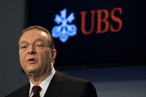 UBS AG  Chief Executive Officer Oswald Gruebel