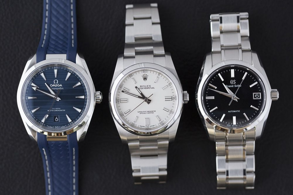 Which Entry Level Automatic Rolex Omega Grand Seiko To Buy Bloomberg