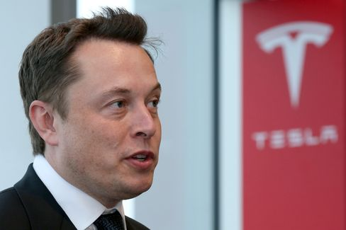 Tesla Motors Inc. Chief Executive Officer Elon Musk
