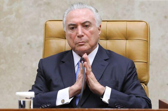 Brazil's Former PresidentTurns Himself Into Police