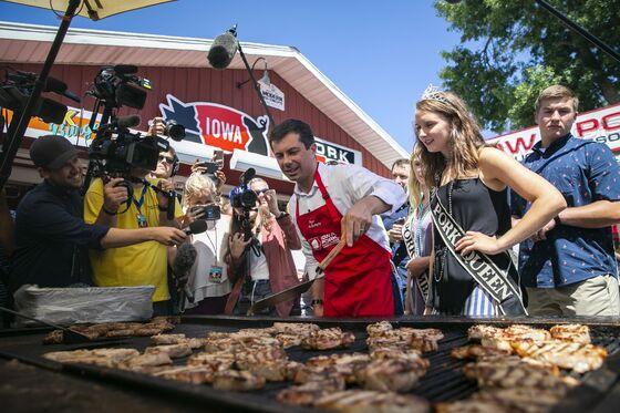 Buttigieg Flips Chops With the Iowa Pork Queen: Campaign Update