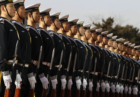 Chinese Military Honor Guard