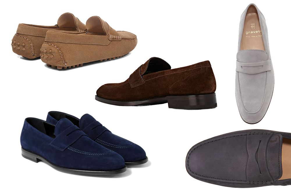 59b2810a584 relates to Five Cool Suede Loafers to Wear This Spring