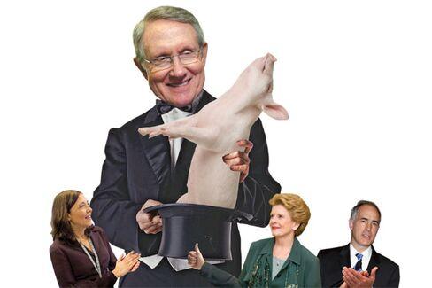 Senate Democrats Serve Up a Pork Substitute