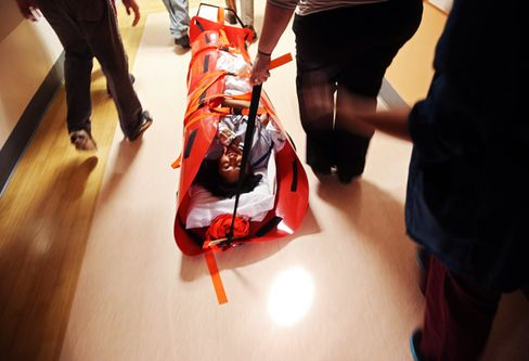 Evacuated Hospital Patients Find Beds Throughout City