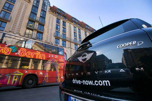 Sixt SE And Bayerische Motoren Werke AG Plan To Expand DriveNow Car-Sharing Venture