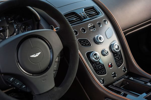 The Aston Martin DB GT Is James Bond Perfect Bloomberg - Aston martin db9 interior
