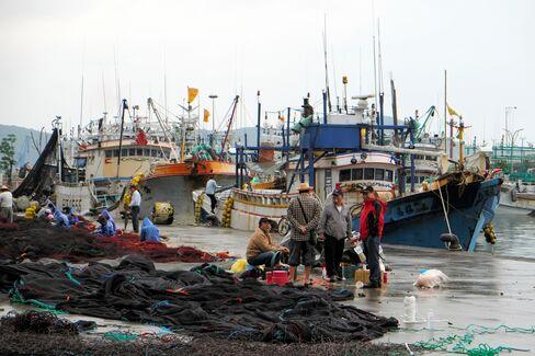 Fishermen in Taiwan