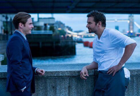 "Daniel Brühl as the ""greatest maitre d' in Europe"" and Bradley Cooper as chef Adam Jones."