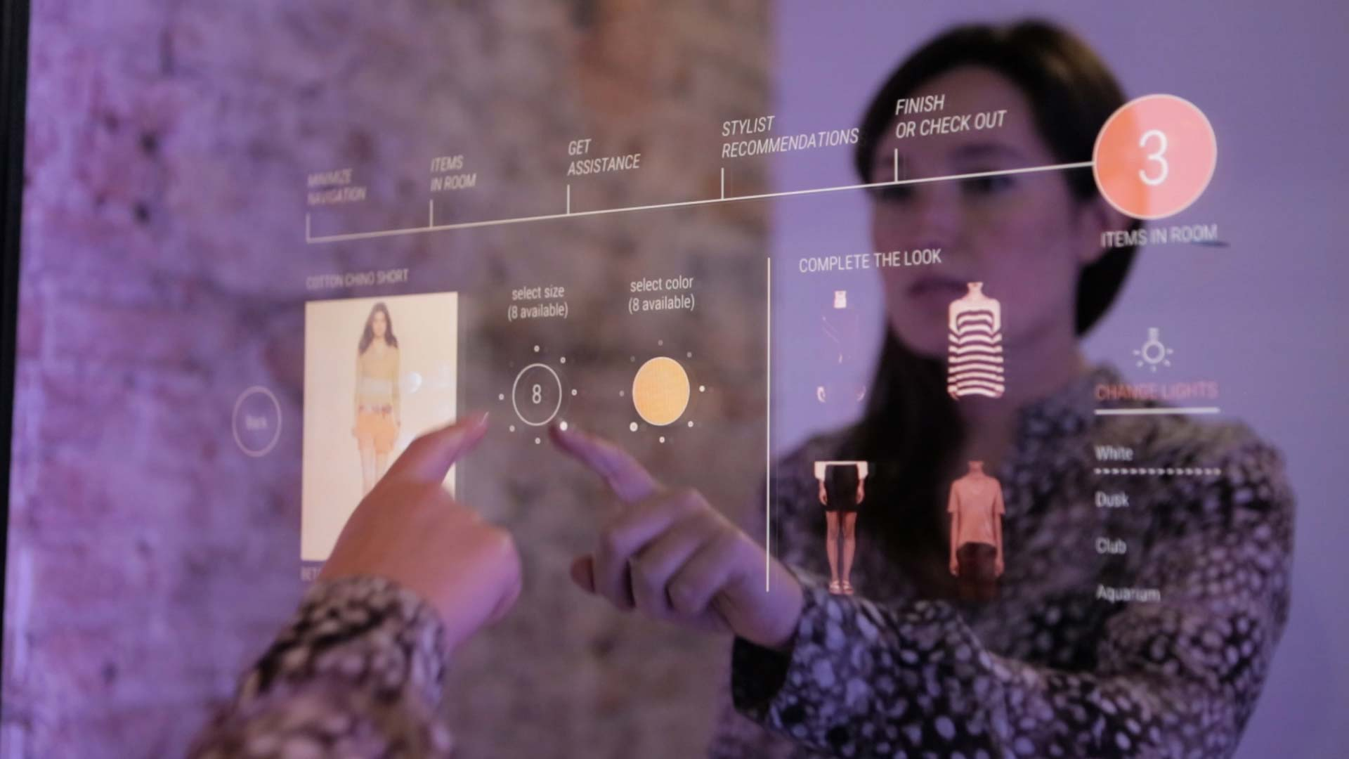 Smart Mirrors Come To The Fitting Room Bloomberg