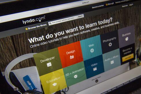 Lynda.com Website