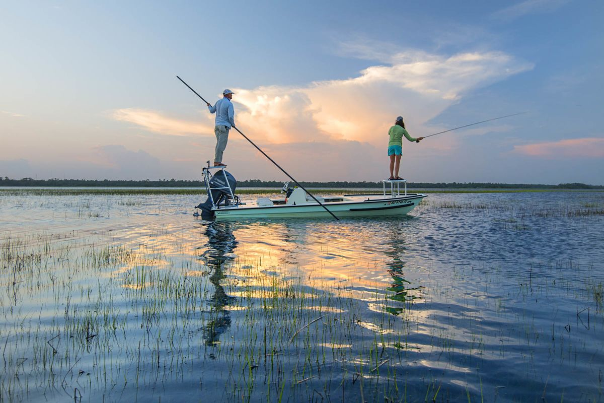 Fly fishing in charleston south carolina travel guide for Fly fishing south carolina