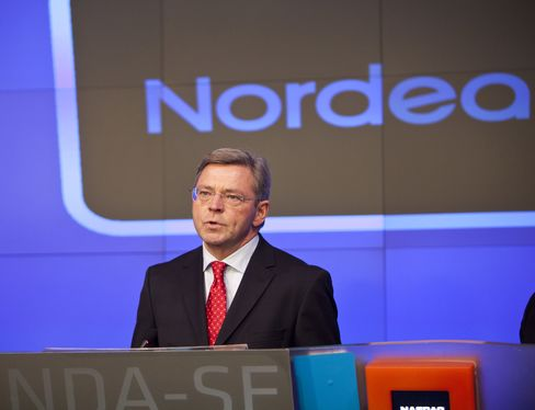 Nordea Bank AB CEO Christian Clausen