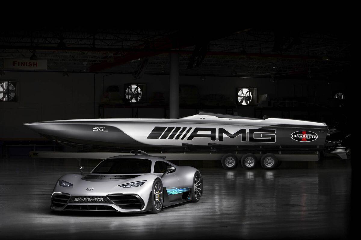 Mercedes Benz Unveils The 2 Million Amg Cigarette Racing Boat