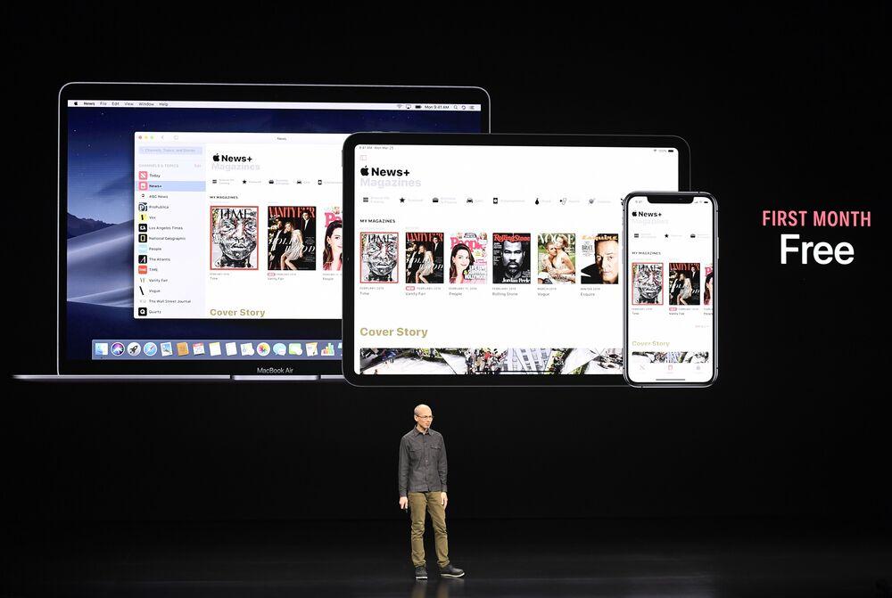 Murdoch's Wall Street Journal Joins Apple's 'Netflix for News'