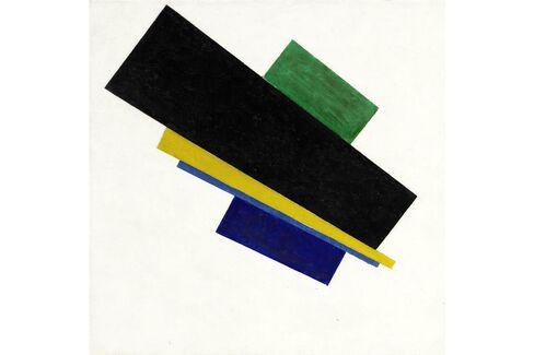 Kazimir Malevich, Suprematism, 18th Construction, 1915