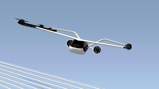 Air-Taxi Startup Volocopter Unveils Four-Seater Suburban Shuttle