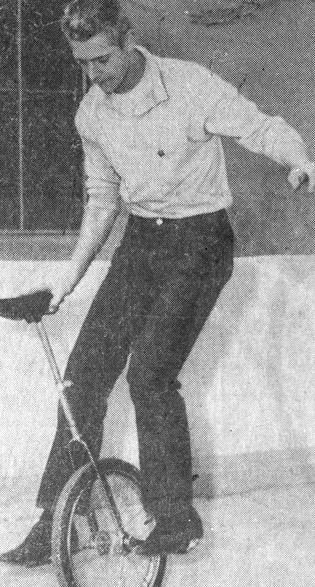 Jorgensen, Bezos's biological father, in 1961