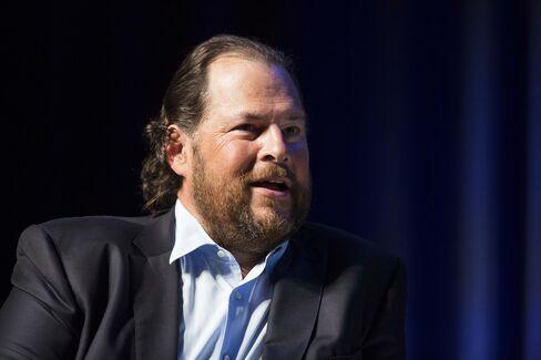 Salesforce.com Inc. Chief Executive Officer Marc Benioff