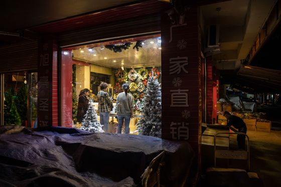 China's Christmas Village Isn't Worried About Trump's Trade War