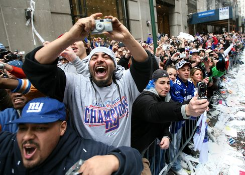 New York's Broadway to Become 'Super Bowl Boulevard' in 2014