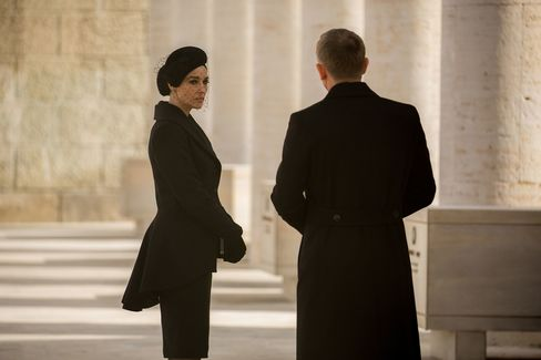 Italian film star Monica Bellucci played Lucia, a grieving widow in the film.