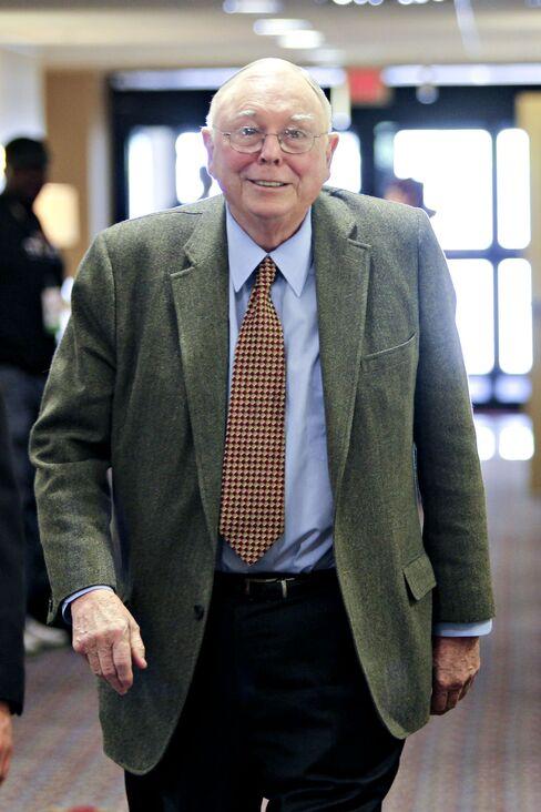 Berkshire Hathaway Vice-Chairman Charles Munger