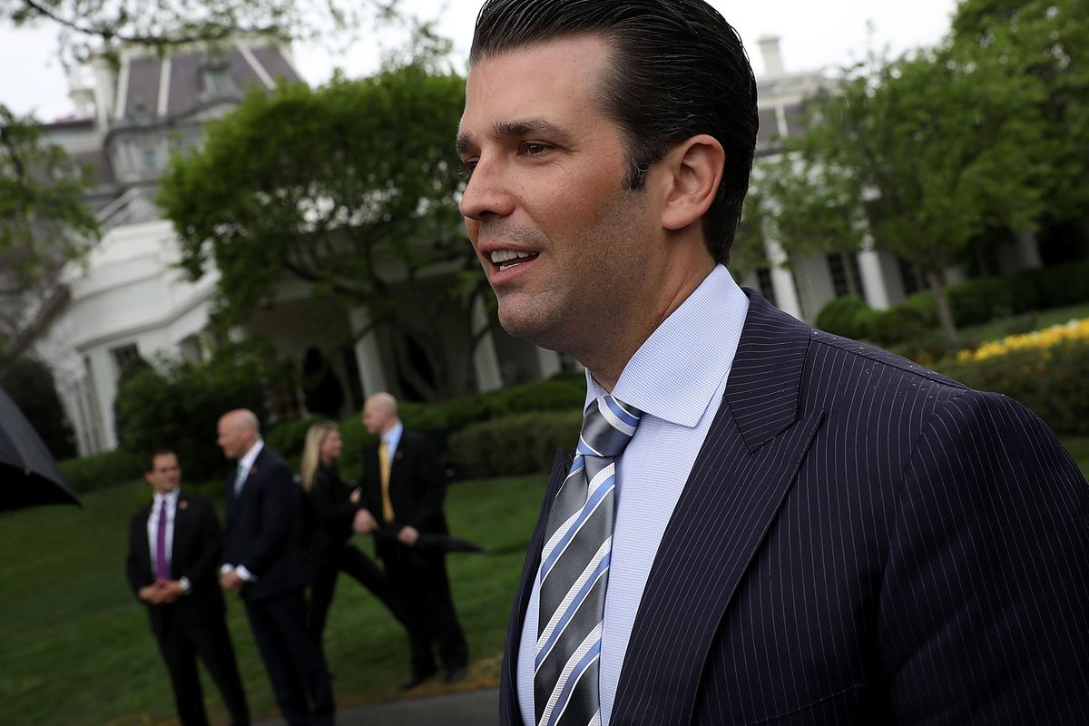 Trump Campaign to Stop Paying Donald Jr.'s Legal Bills