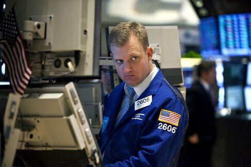 U.S. Stocks Fall as Factory Orders Trail