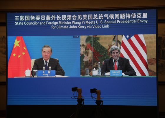 China Ties Climate to Better U.S. Relations in Kerry Talks