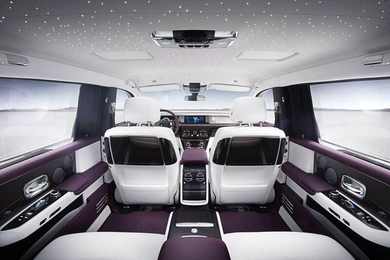 Phantom Viii Comes In Regular And Long Wheelbase Versions The Rear Seats Recline Nearly Flat Rolls Royce
